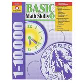 Evan-Moor, Basic Math Skills Teacher Reproducibles, Paperback, 304 Pages, Grade 3