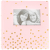Pink and Gold Dots Photo Album, Pink/Gold, 9 x 9 Inches