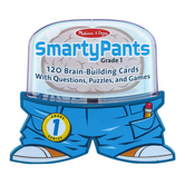 Melissa & Doug, Smarty Pants 1st Grade Card Set, Ages 6 to 8, 120 Cards