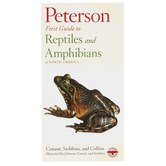 Peterson First Guide to Reptiles and Amphibians of North America, Paperback, Grades 3-12 and adults