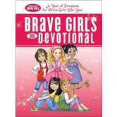Brave Girls 365-Day Devotional, by Thomas Nelson, Hardcover