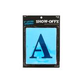 Show-Offs, Upper Case Formal Alphabet Stencils, 3 inches