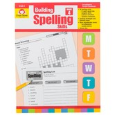 Evan-Moor, Building Spelling Skills Grade 5 Teacher's Edition, Reproducible, Paperback, 160 Pages