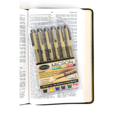 Pigma Micron, Bible Study Kit, Pack of 6 Pens