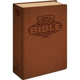NIrV Adventures In Odyssey Bible for Boys, Imitation Leather, Brown
