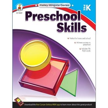 Carson-Dellosa, Kelley Wingate Preschool Skills Workbook, 128 Pages, Paperback, Grade PreK
