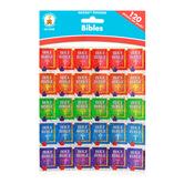 Carson-Dellosa, Bibles Dazzle Shape Stickers, 1 x 1 Inch, Assorted Colors, Pack of 120