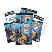 BJU Press, Math 4 Complete Subject Kit, 4th Edition,Grade 4