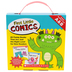 Scholastic, First Little Comics Parent Pack: Levels A & B, 4.25 x 5.50 Inches, 20 Books, Grades PreK-2