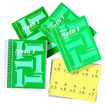 Saxon Math 1 Complete Homeschool Kit