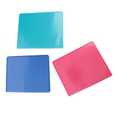 Samsill, Junior Heavy Duty View Binder, Assorted Colors, 1 x 9 x 7 1/4 inches