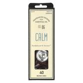 Calm Sandalwood & Incense Fragranced Incense Cones, 40 pieces