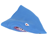 Master Toys, Shark Hand Puppet, Blue, 4 1/2 x 6 inches