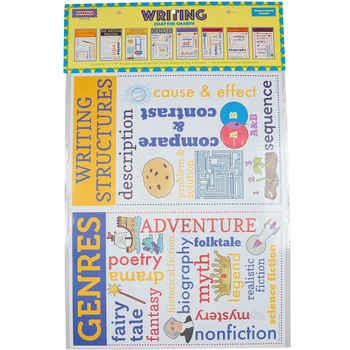 McDonald Publishing, Writing Chatter Charts, 11 x 17 Inches, 8 Pieces