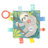 Mary Meyer, Taggies Crinkle Me Sloth, 6 1/2 x 6 1/2 inches