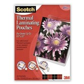 "Thermal Laminating Pouches 8.5""x11"