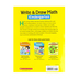 Scholastic, Write and Draw Math Kindergarten Activity Book, Paperback, 64 Pages, Grade K