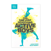 The One Year Devotions for Active Boys, by Jesse Florea and Karen Whiting, Paperback