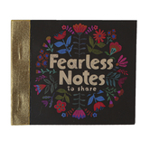 Natural Life, Fearless Tiny Happy Notes, Paper, 3 x 3 Inches, 90 Sheets