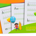 Channie's, Easy Peasy Alphabet and Numbers 0-9 Workbook, 11 x 8.5 inches, 80 Pages, Grades PreK-1