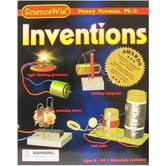ScienceWiz, Inventions Science Kit, Over 30 Pieces, Ages 8  and up