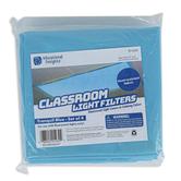 Educational Insights, Fluorescent Light Filters, Tranquil Blue, Grades PreK-12, Set of 4