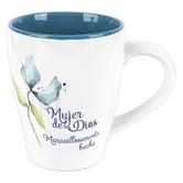 CTA, Inc., Mujer de Dios Spanish Coffee Mug, Ceramic, 11 ounces