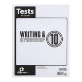 BJU Press, Writing & Grammar 10 Tests (4th Edition)