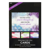 Brother Sister Design Studio, Canvas Design Praying for You Cards, 12 count