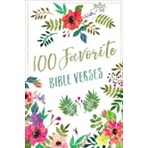 100 Favorite Bible Verses, by Thomas Nelson, Hardcover