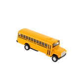 Die-Cast Pull-Back School Bus, Ages 3 and up
