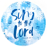 Renewing Faith, Faith & Fellowship Psalm 96:1 Paper Plates, Large, Blue, 10 1/2 Inches, Pack of 20