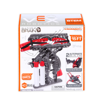 Hexbug, VEX Robotics Crossbow Launcher Construction Set, 150+ Pieces, Ages 14 and up
