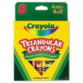 Crayola, Triangular Crayons, 8 Count