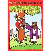 itty-bitty Bible Activity Book, Best Loved Bible Stories, by Warner Press, Paperback