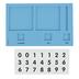 Didax, Base Ten Place Value Frame, 23 Pieces, Grades K-2