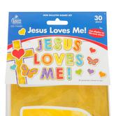 Carson-Dellosa, Jesus Loves Me Mini Bulletin Board Set, 30 Pieces