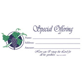 Broadman & Holman, Special Offering Envelopes, 6 1/4 x 3 inches, White, Set of 100