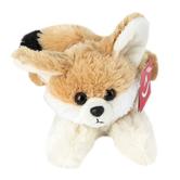 Aurora, Mini Flopsies, Frisky the Fennec Fox Stuffed Animal, 8 inches