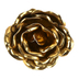 Bright Ideas, Small Adhesive Flower Wall Decor, Gold, 4 Inches