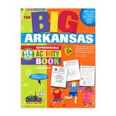 Gallopade, The BIG Arkansas Reproducible Activity Book, Paperback, 96 Pages, Grades 2-8