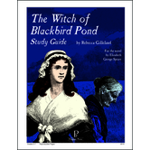 Progeny Press, The Witch Of Blackbird Pond Student Study Guide, Paperback, 68 Pages, Grades 5-7