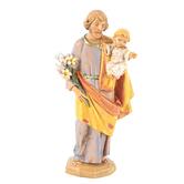 Roman, Inc, St Joseph Fontanini Figurine, 5 inches