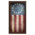 We Hold These Truths Classic Flag Wall Art, MDF, Red, White, and Blue, 28 x 15 inches