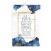 Dexsa, A Sister Is More Than A Forever Friend Wood Plaque, White and Navy Blue, 9 x 6 x 1/2 inches