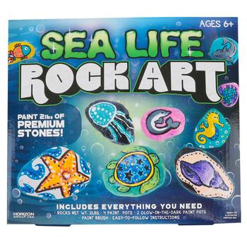 Horizon Group, Sea Life Art Activity Kit, Grades 1-8