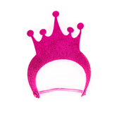 Foamies, Glitter Foam Tiara Visor, Assorted Colors