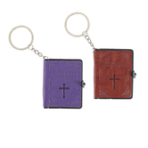 G.T. Luscombe, Smallest Bible Keychain XL, Various Colors, 2 x 2 1/2 inches