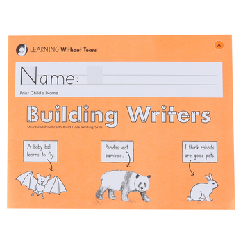 Learning Without Tears, Building Writers A Student Workbook, Paperback, Grade K