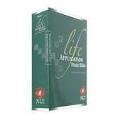 NLT Life Application Study Bible, Personal Size, Paperback
